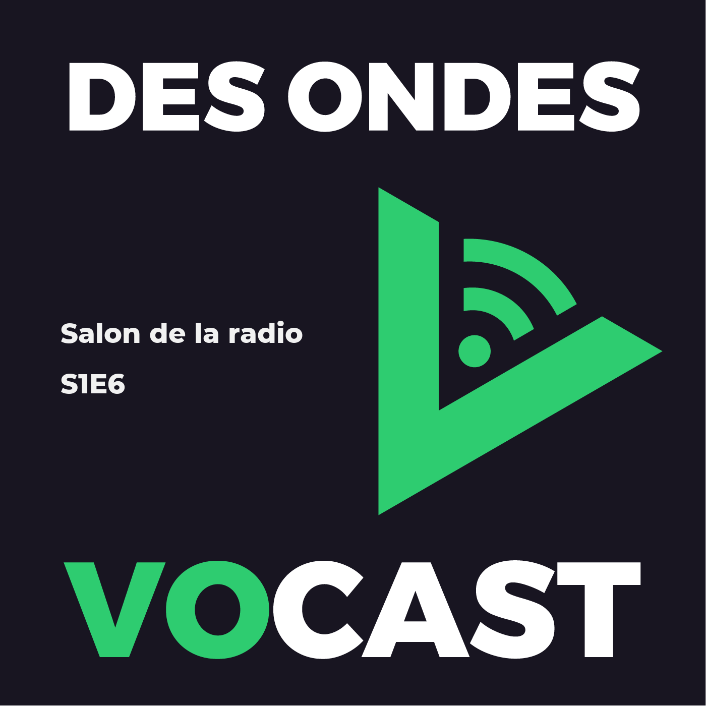 Enregistrement au Salon de la Radio 2019